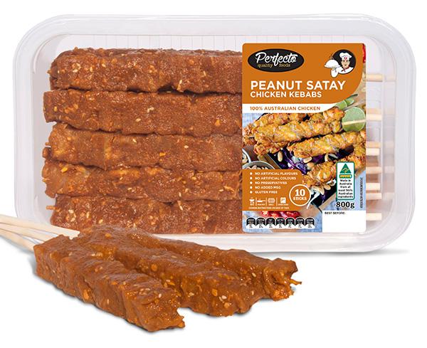 Peanut Satay Kebabs